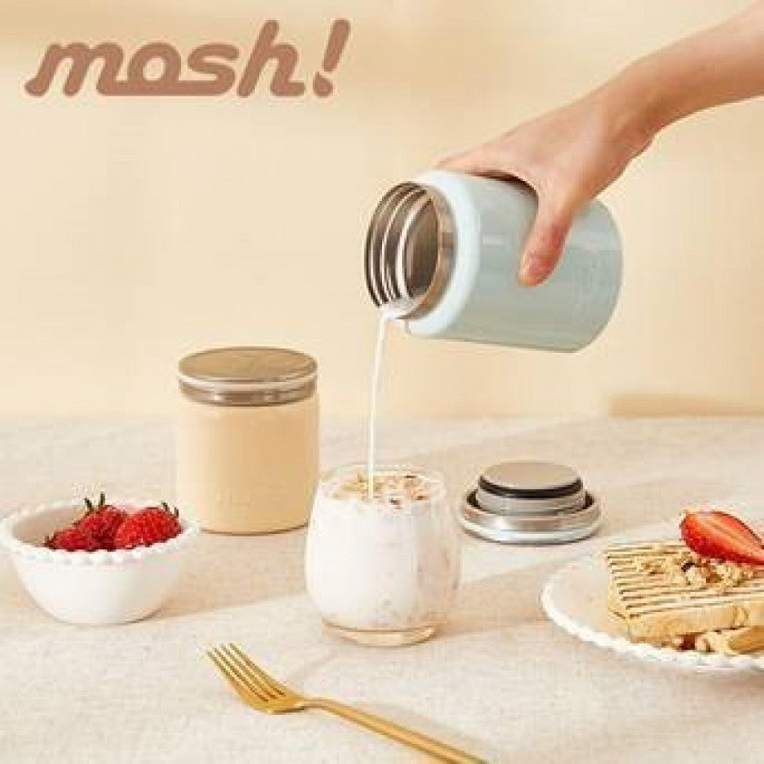 Mosh! Stainless Steel Food Pot (420ml)