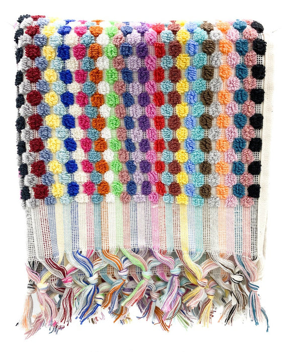 BUBBLE MIX TERRY TURKISH TOWEL