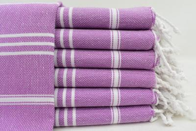 MONACO PURPLE TURKISH TOWEL