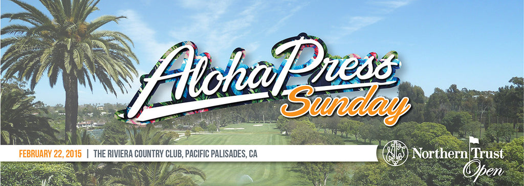 2015 NORTHERN TRUST OPEN  ||  #AlohaPress Sunday