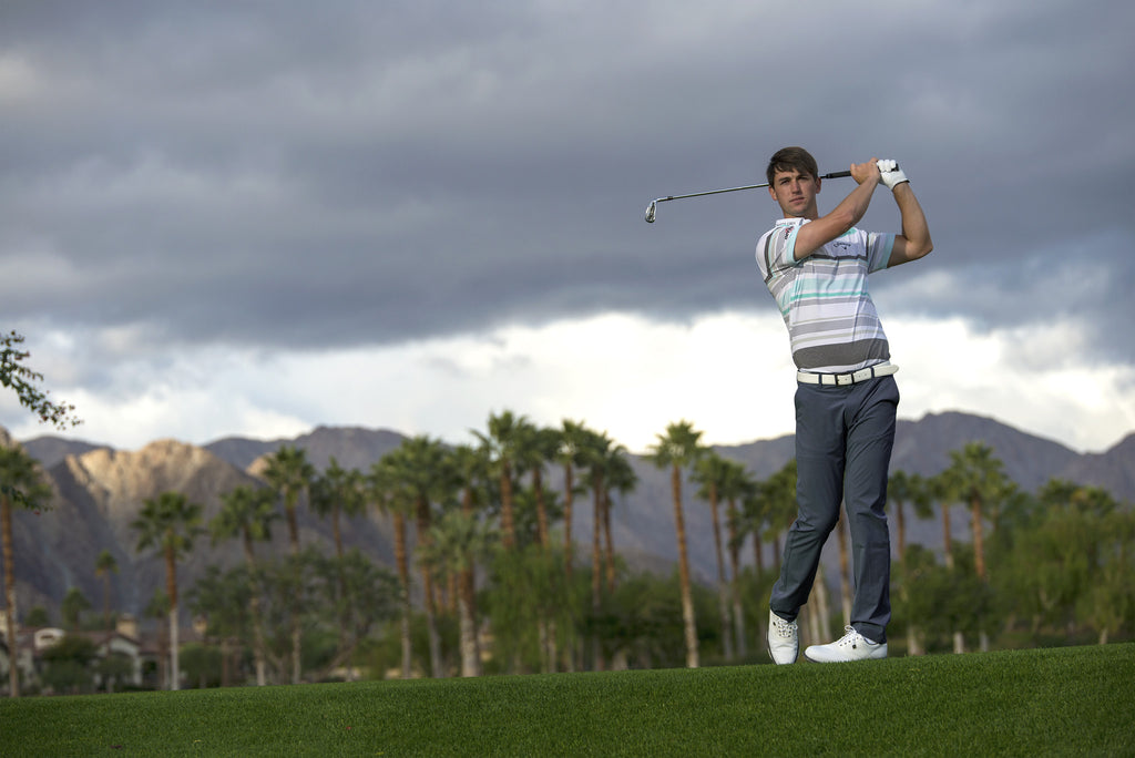 Matte Grey Signs #1 World Ranked Amateur Ollie Schniederjans