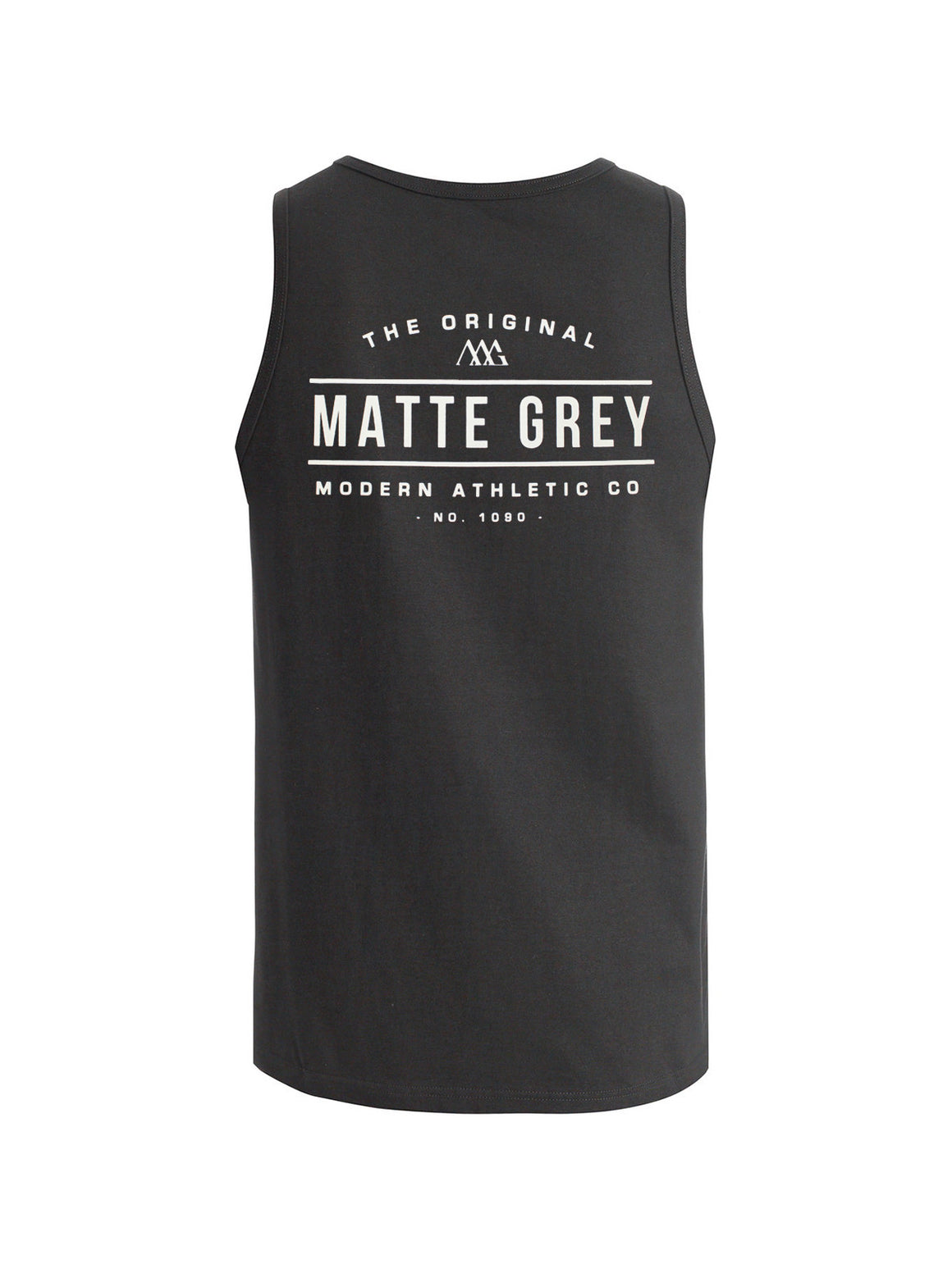 Marquee Tank - Charcoal