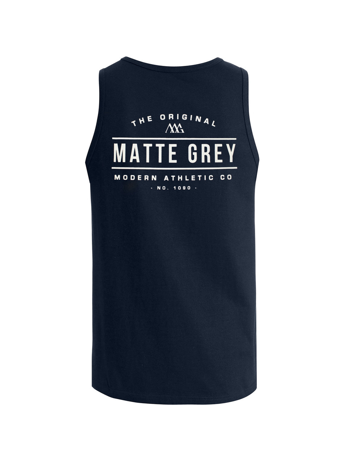Marquee Tank - Navy