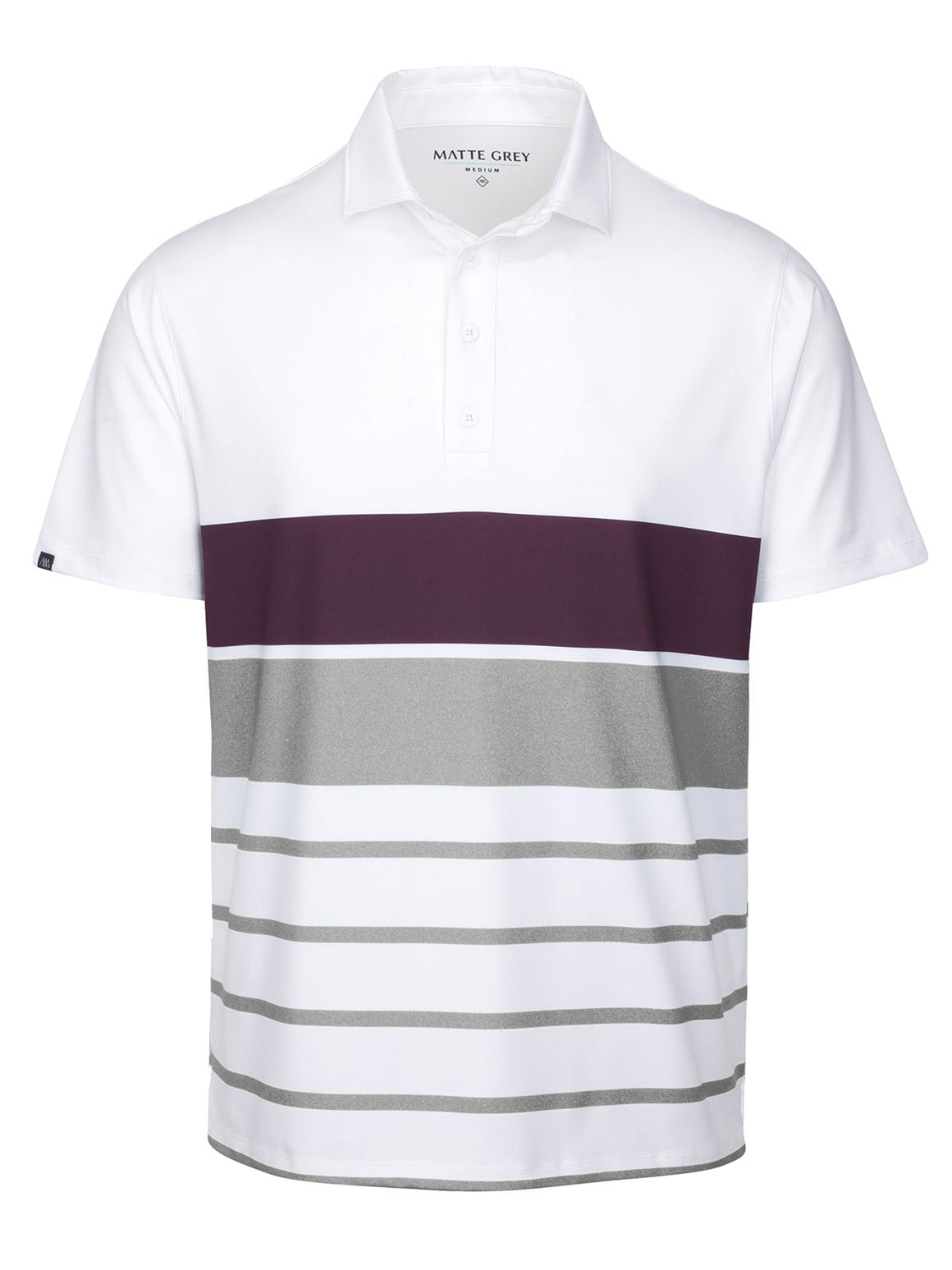 Colt - White (Merlot Heather / Salt Heather)