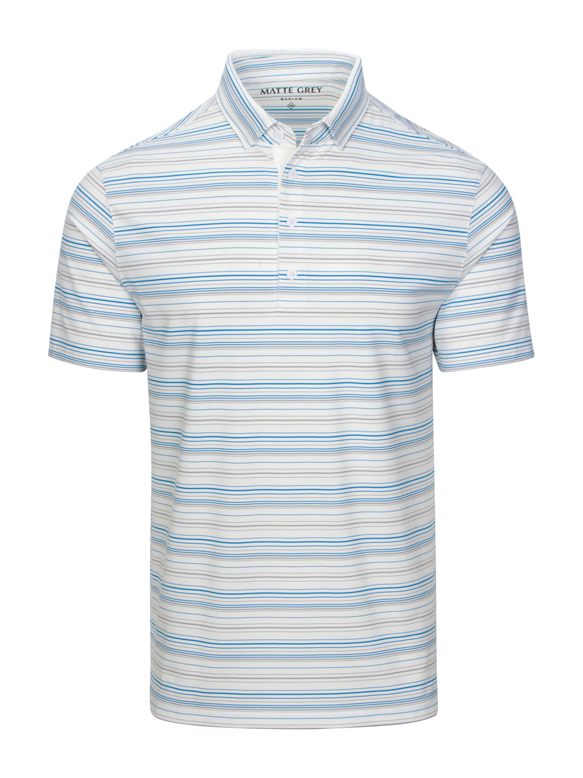 Peters - White (Coastal Blue / Ash Heather)