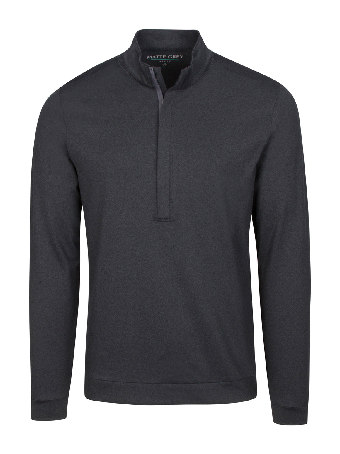 Hightower Half Zip - Black Heather