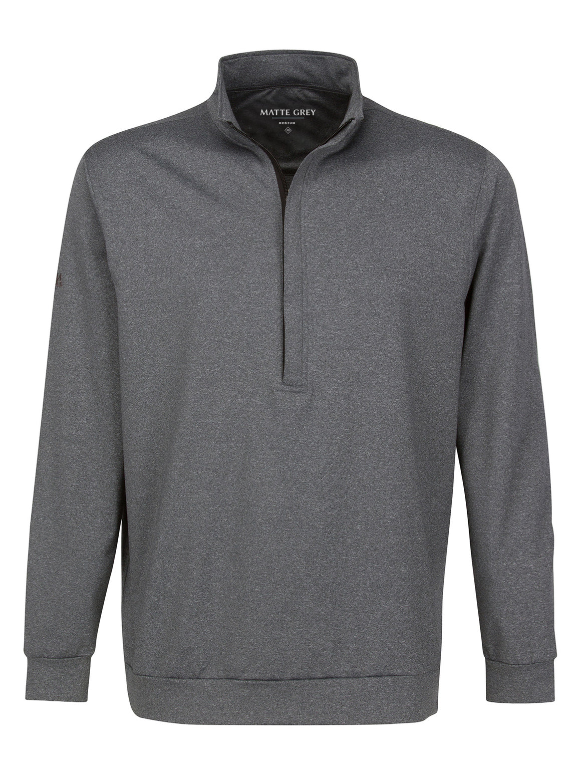 Hightower Half Zip - Charcoal Heather