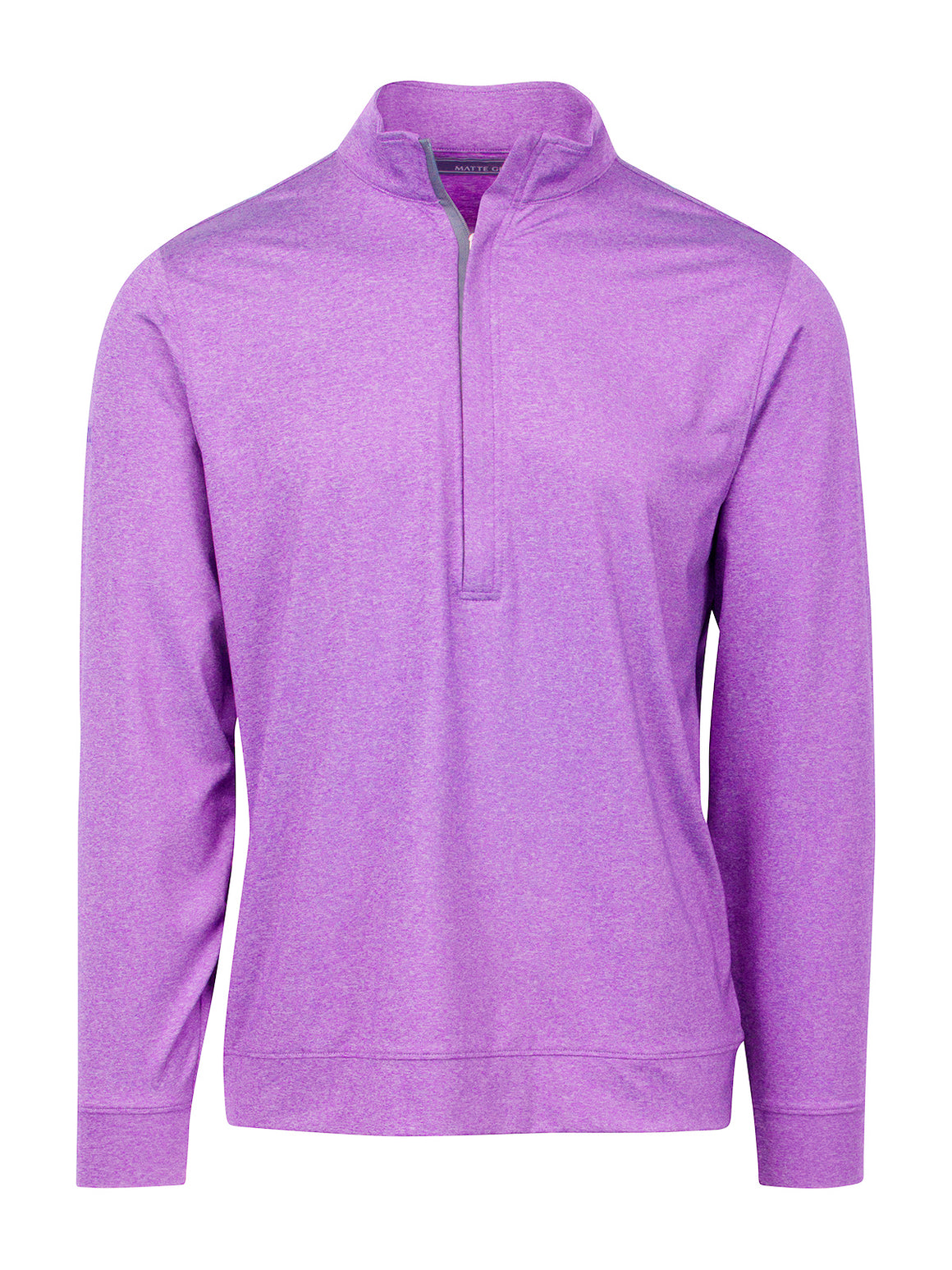 Hightower Half Zip - Iris Heather