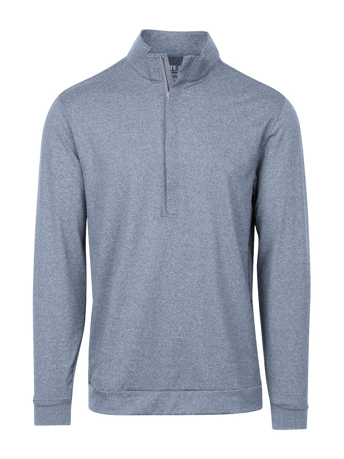 Hightower Half Zip - Dark Denim Heather