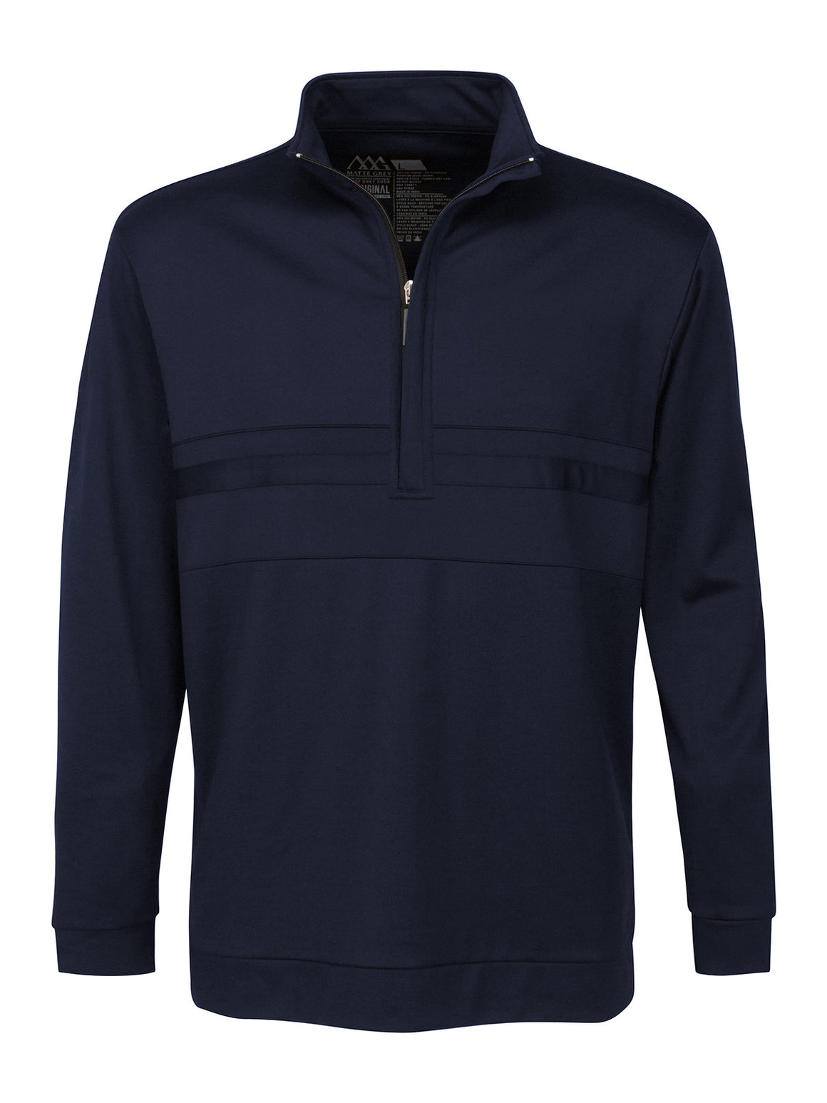 Anders Half Zip - Navy