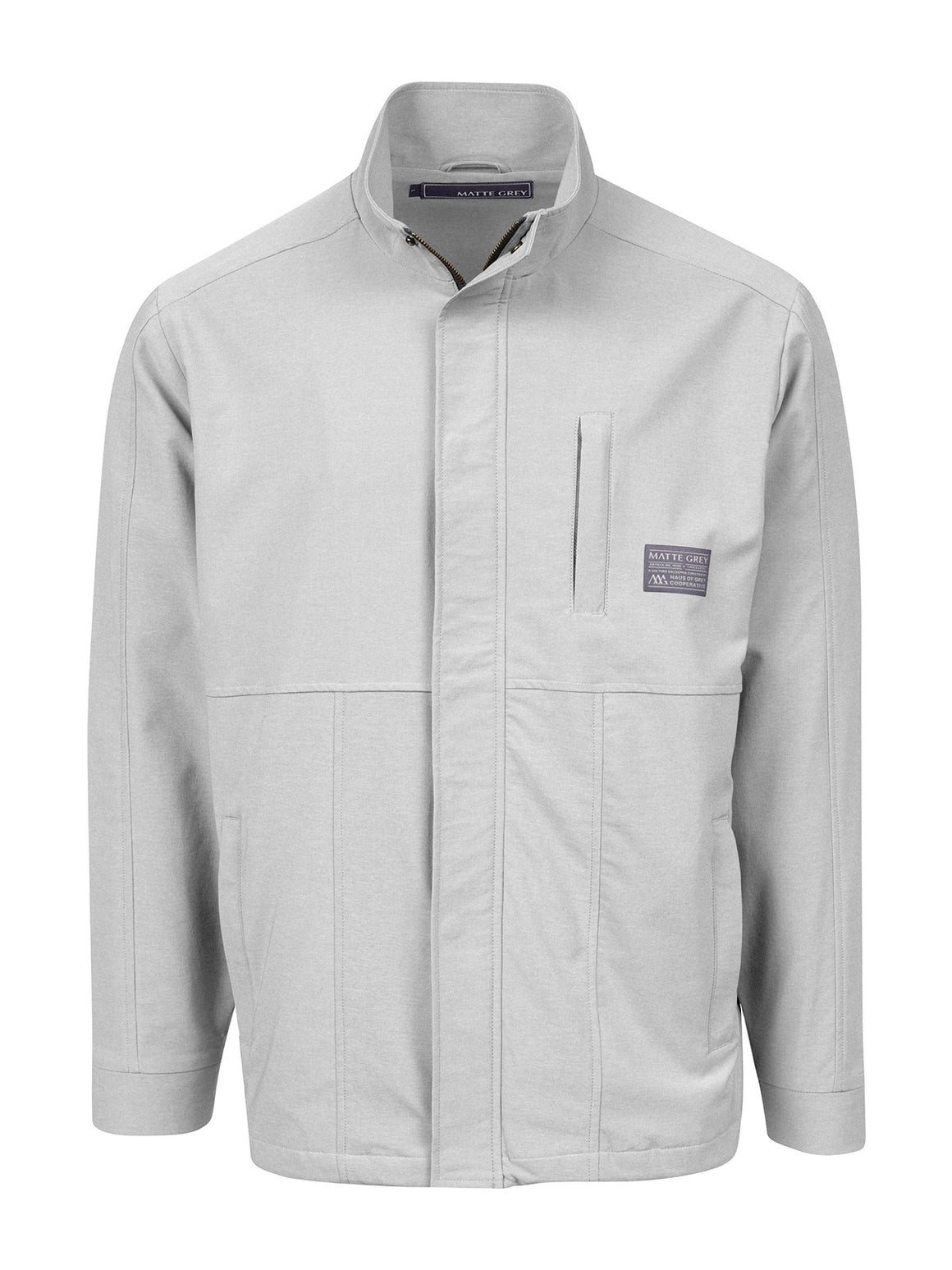 Trekker Badge Jacket - Stone