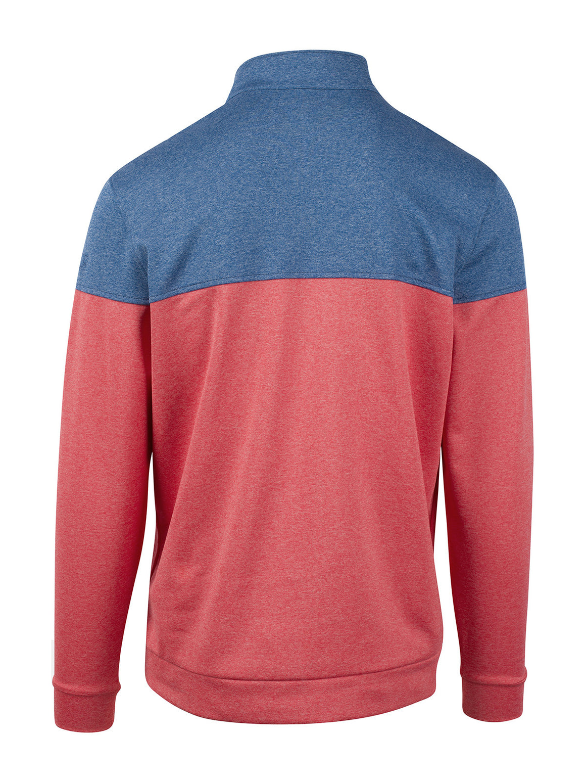 Contra Half Zip - Oyster Heather (Cayenne Heather)