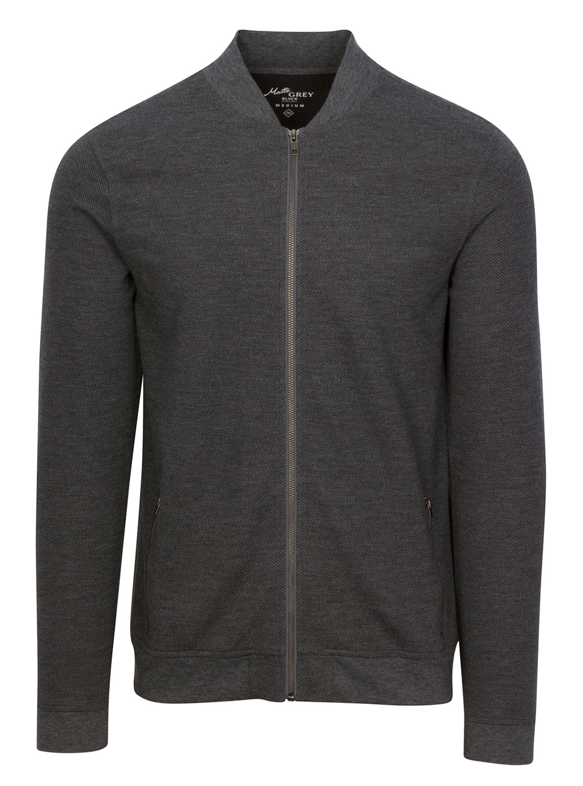 JC Full Zip - Charcoal