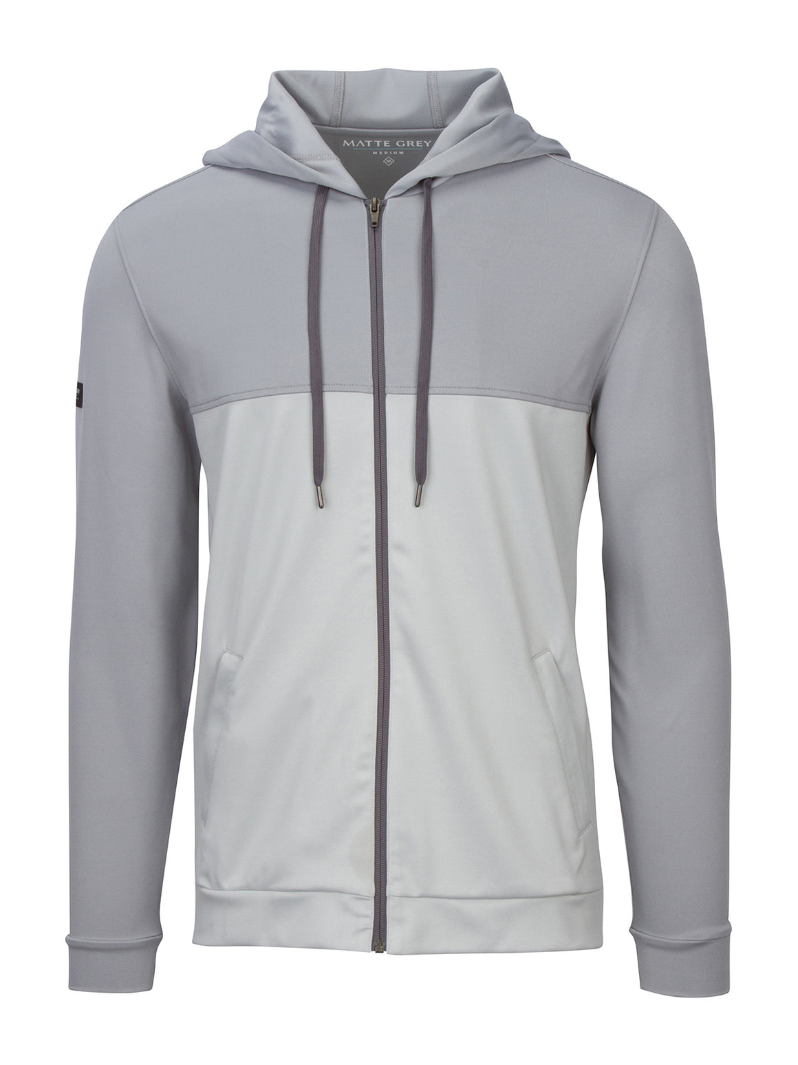 Merrit Hoodie - Salt Heather (Dark Salt)
