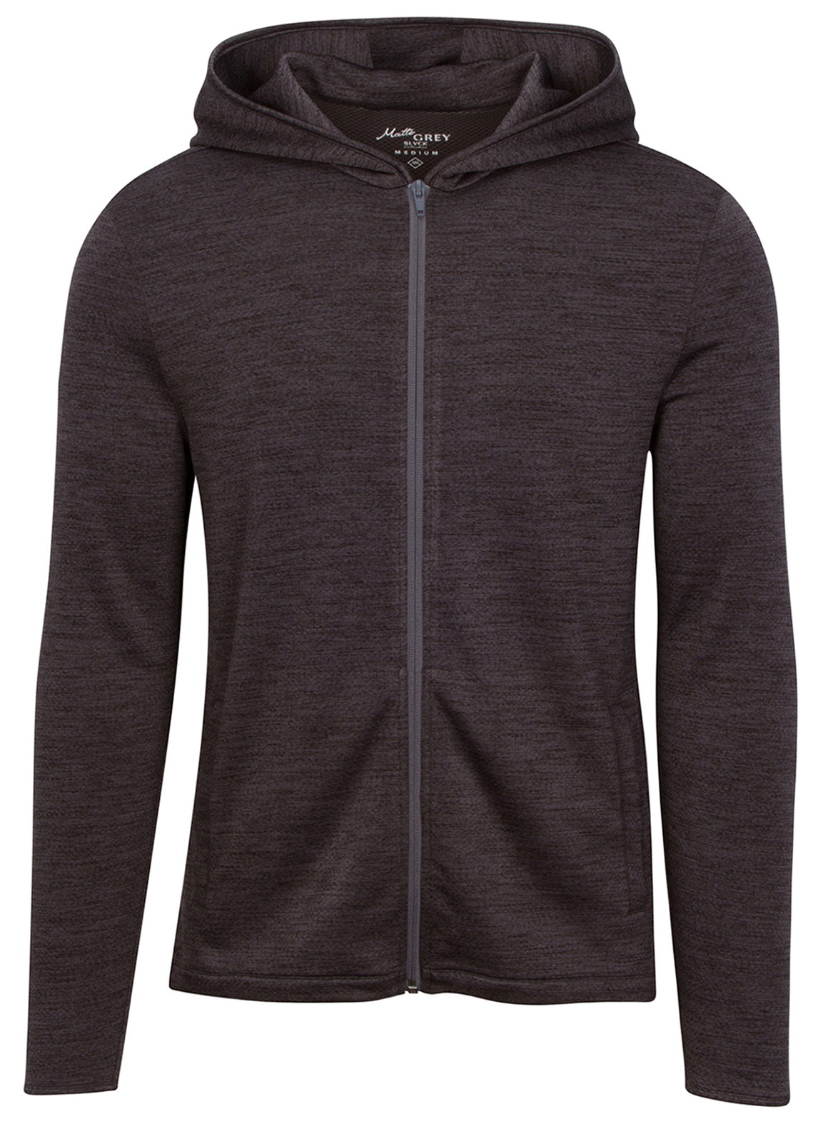 ZV Hoodie - Black Heather