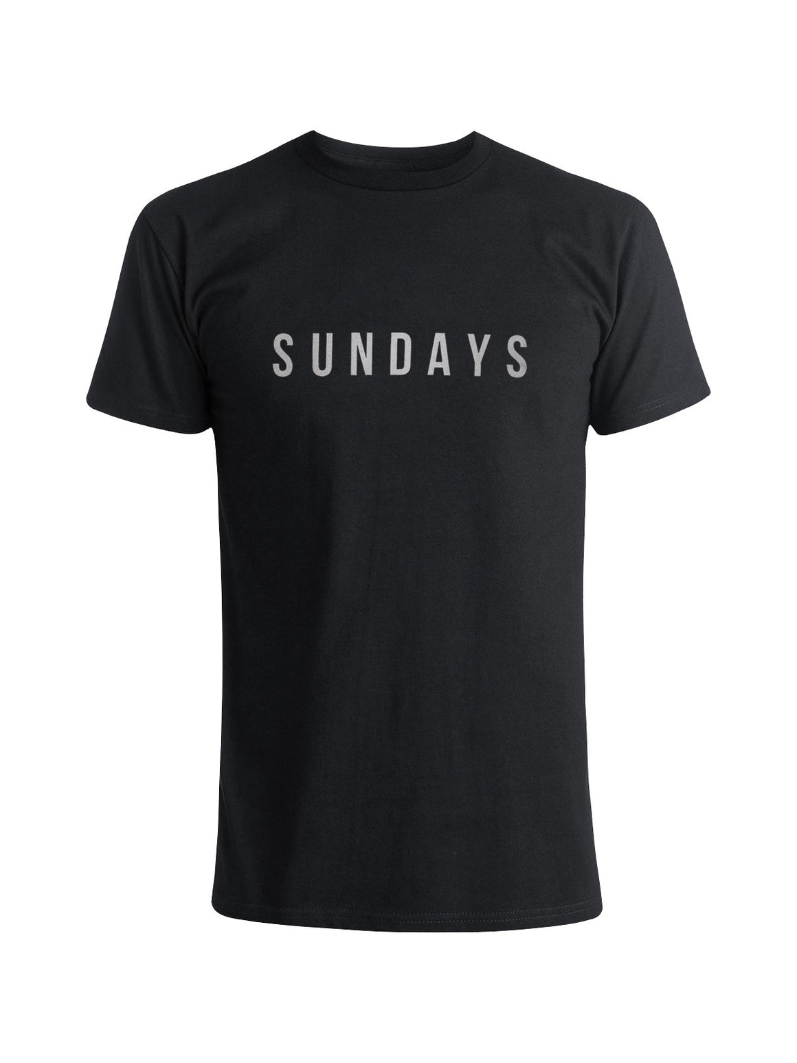 Sundays Tee Shirt - Black (Smoke)