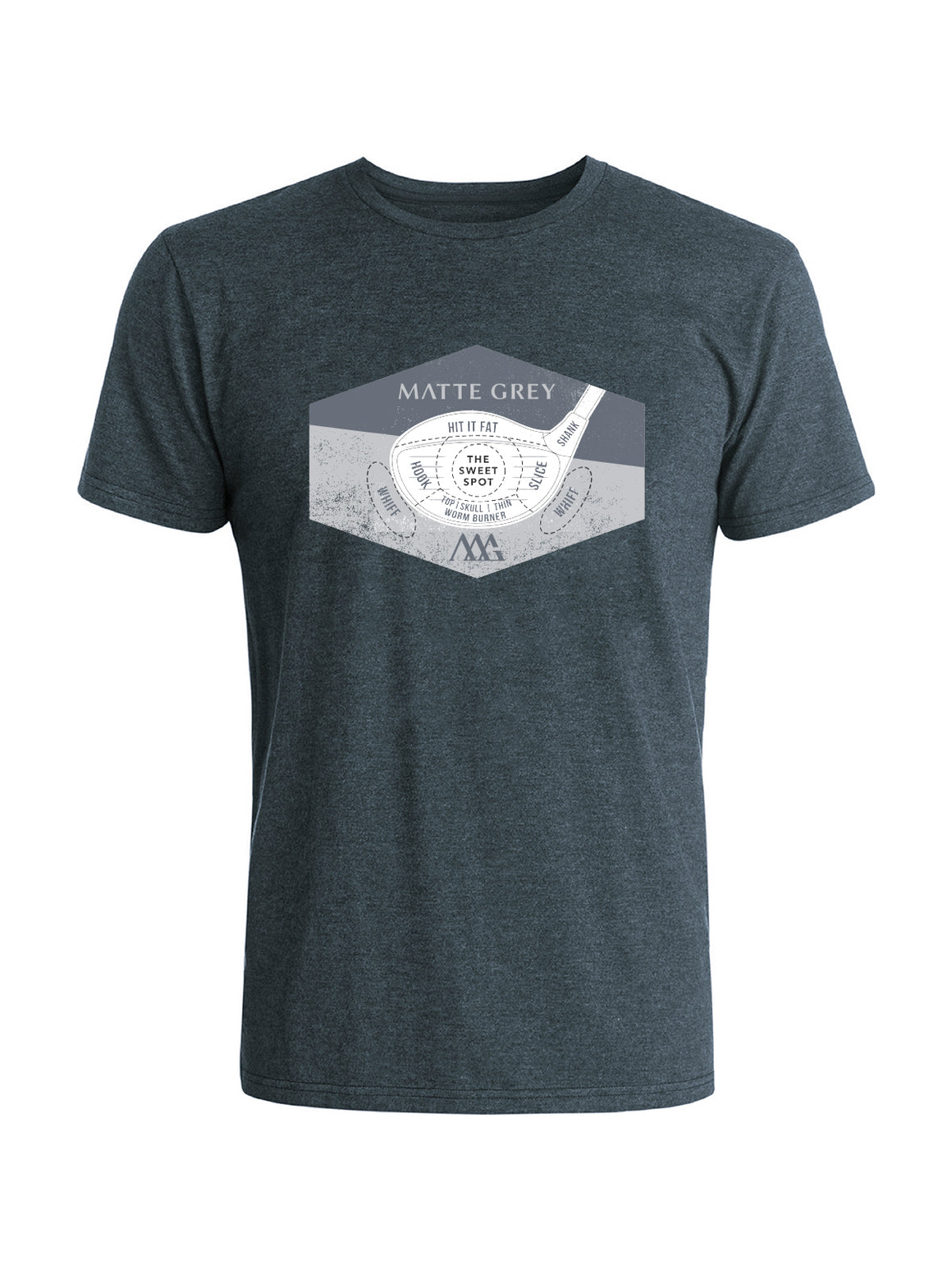 Options Tee Shirt - Indigo Black Heather
