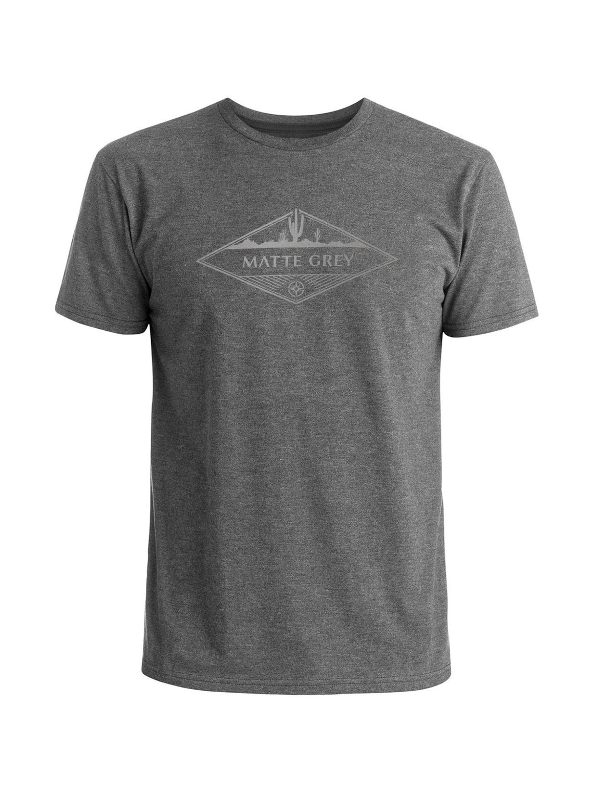 Wayfarer Tee Shirt - Medium Grey Hea (Light Grey)