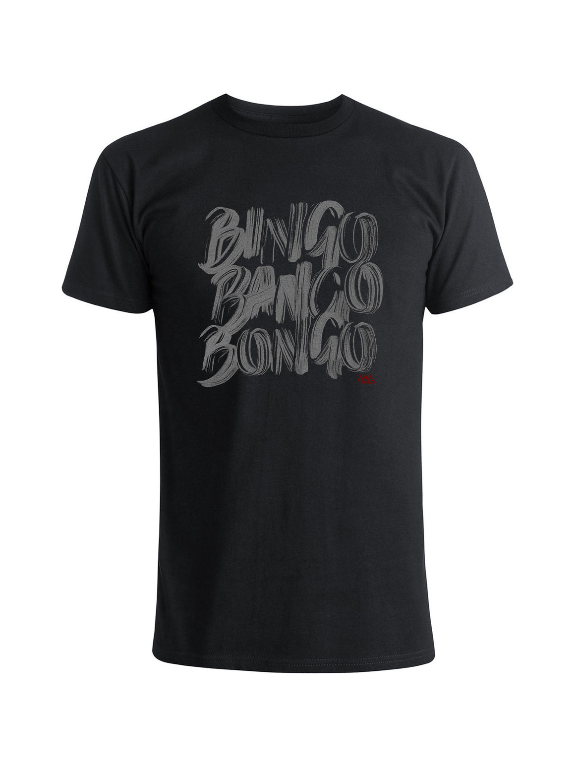 Bingo Tee Shirt - Navy Heather (Smoke)