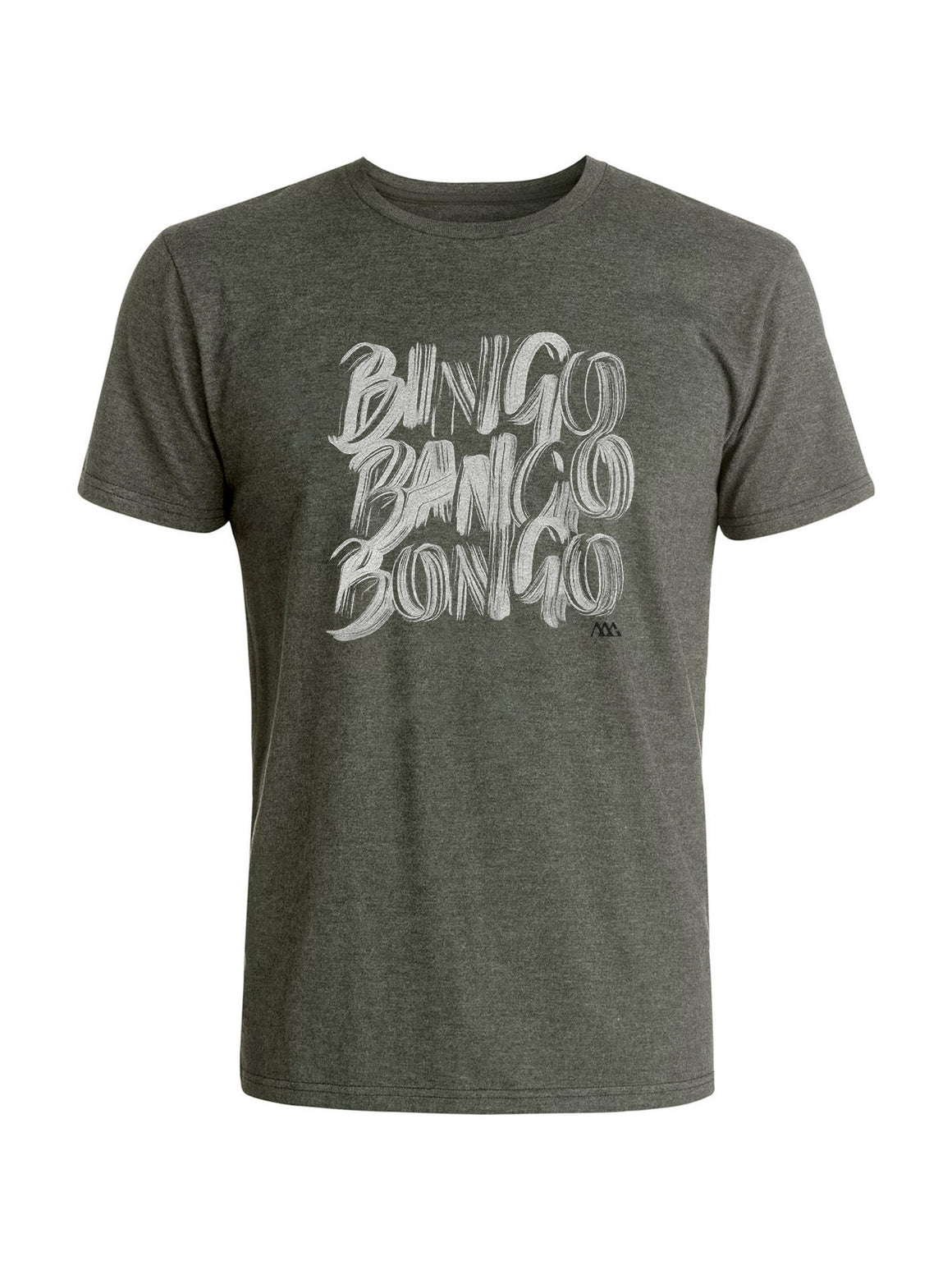 Bingo Tee Shirt - Platinum (White / Black)