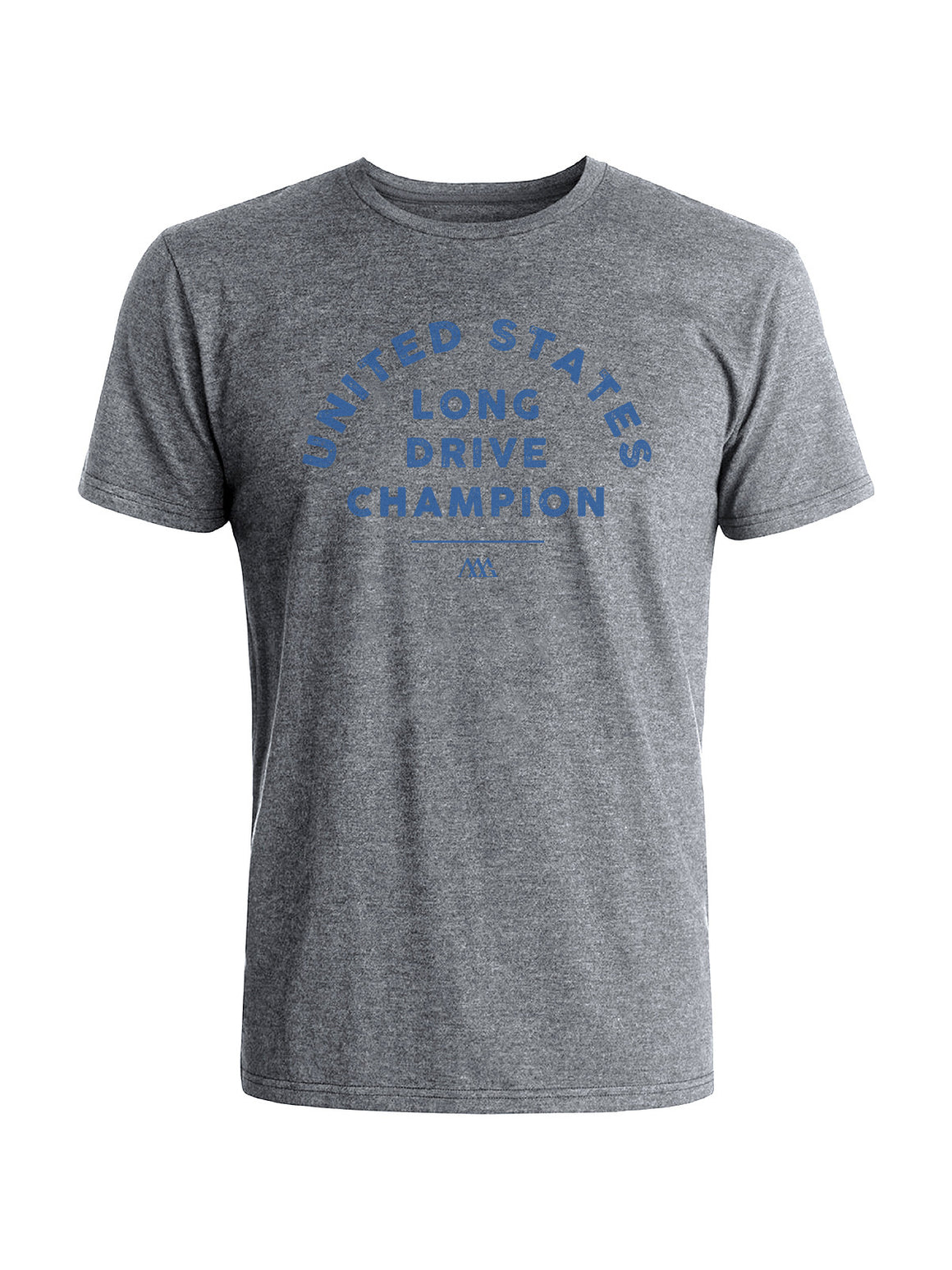 Long Drive Champ Tee Shirt - Gainsburo Heather (Dusty Blue)
