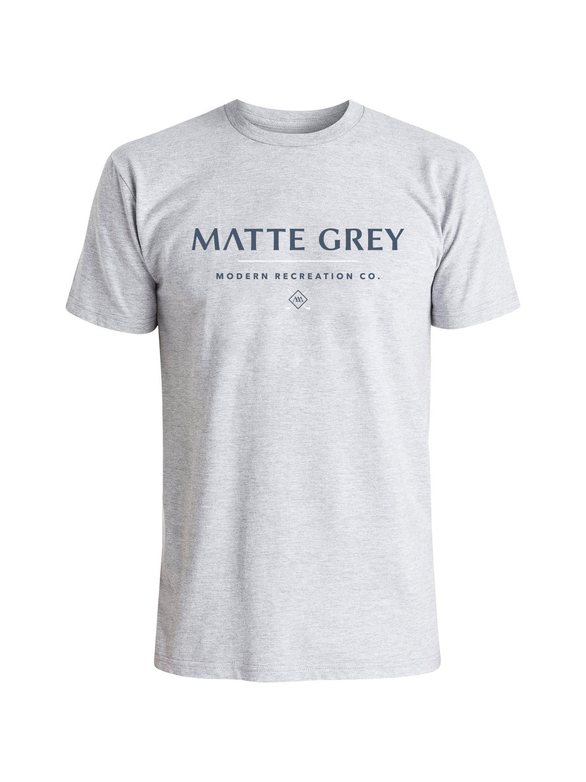 MDRN T-Shirt - Gainsburo Heather (Navy /White)