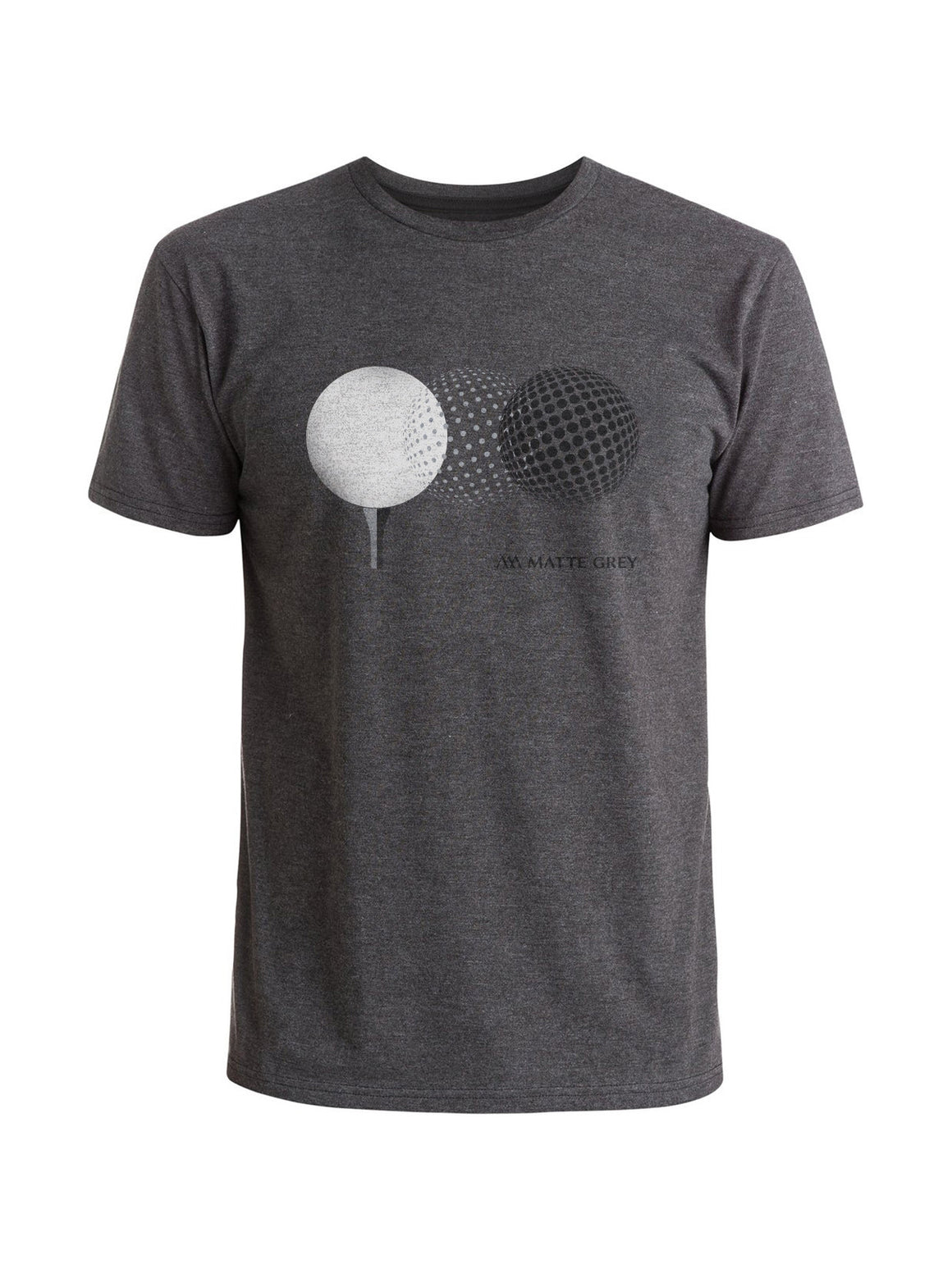 Motion Tee Shirt - Charcoal Heather (Dk Grey / Lt Grey / Stone)