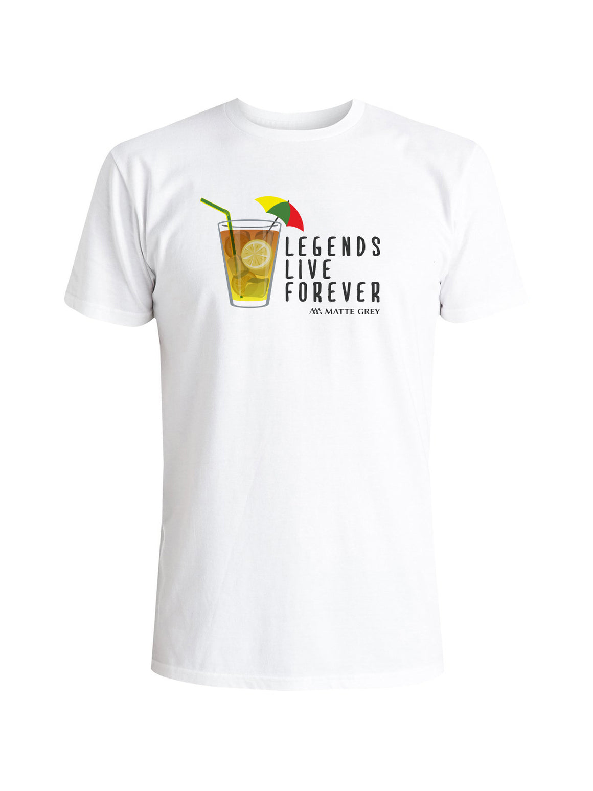 Legend Tee - White