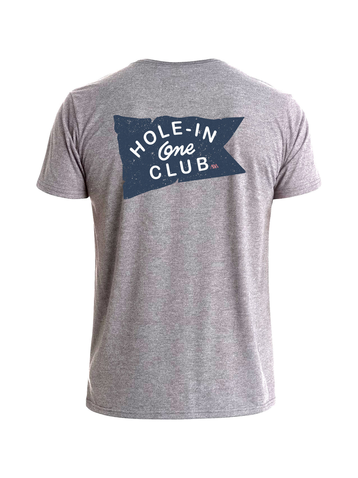 Hole-In-One Club Tee Shirt - Sea Salt Heather