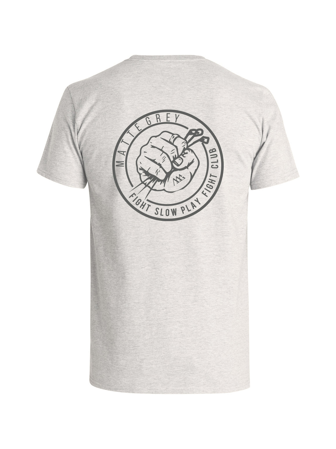 Slow Play Tee Shirt - Feather Grey (Brand Grey)