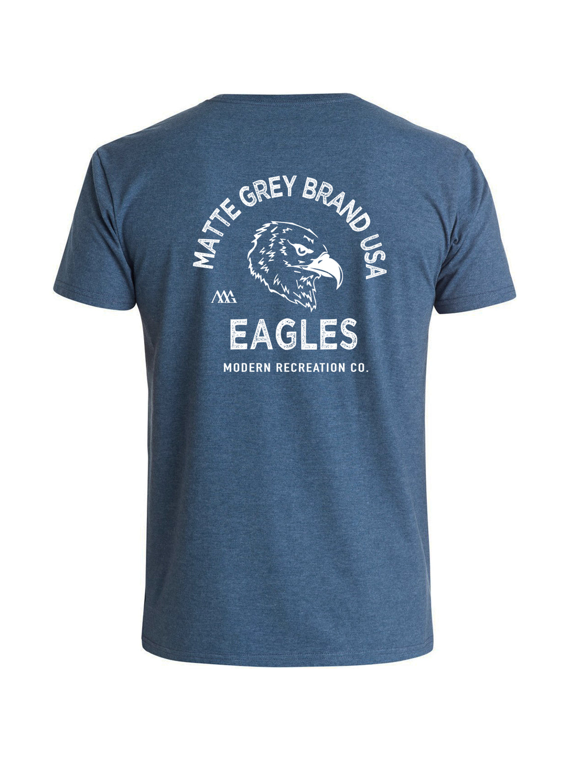 Eagles Tee - Navy (White)