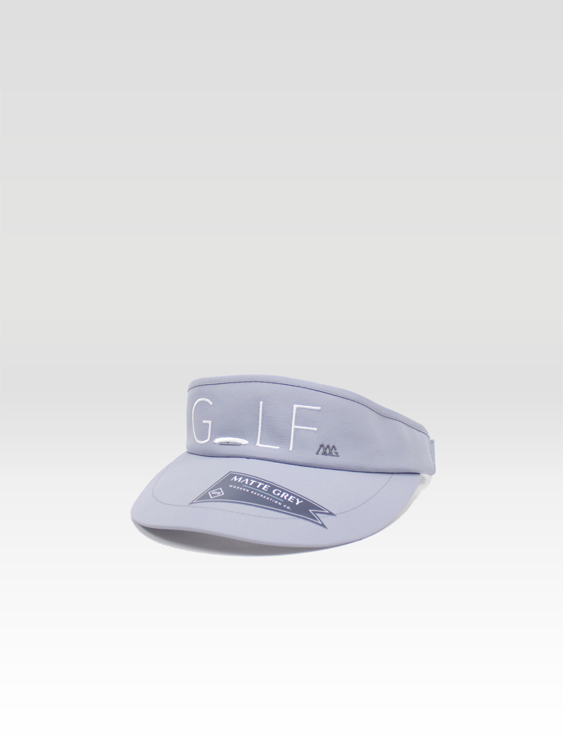 Hole-In-One Visor - Frost Grey (White)