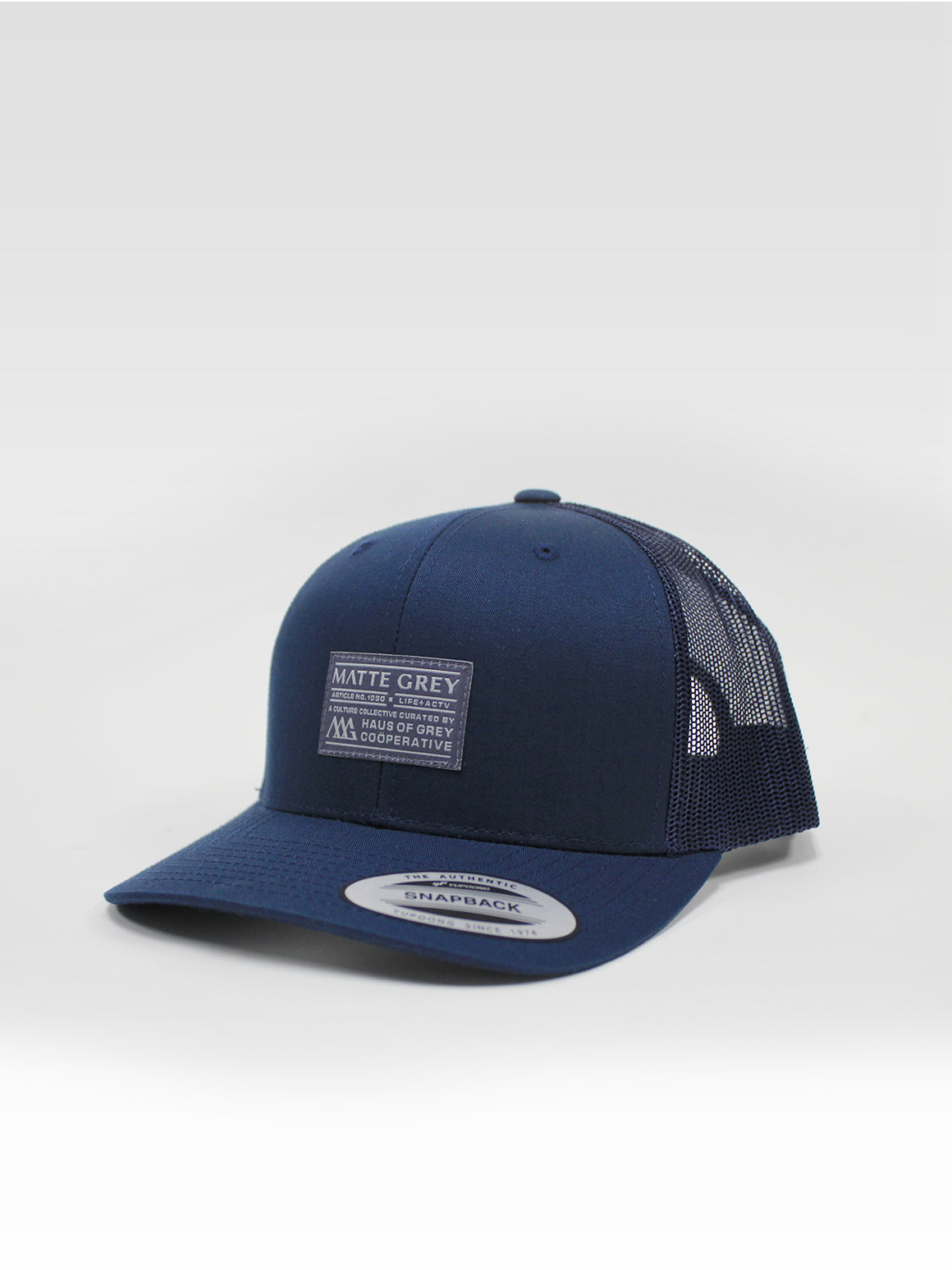 Badge Trucker - Dark Navy