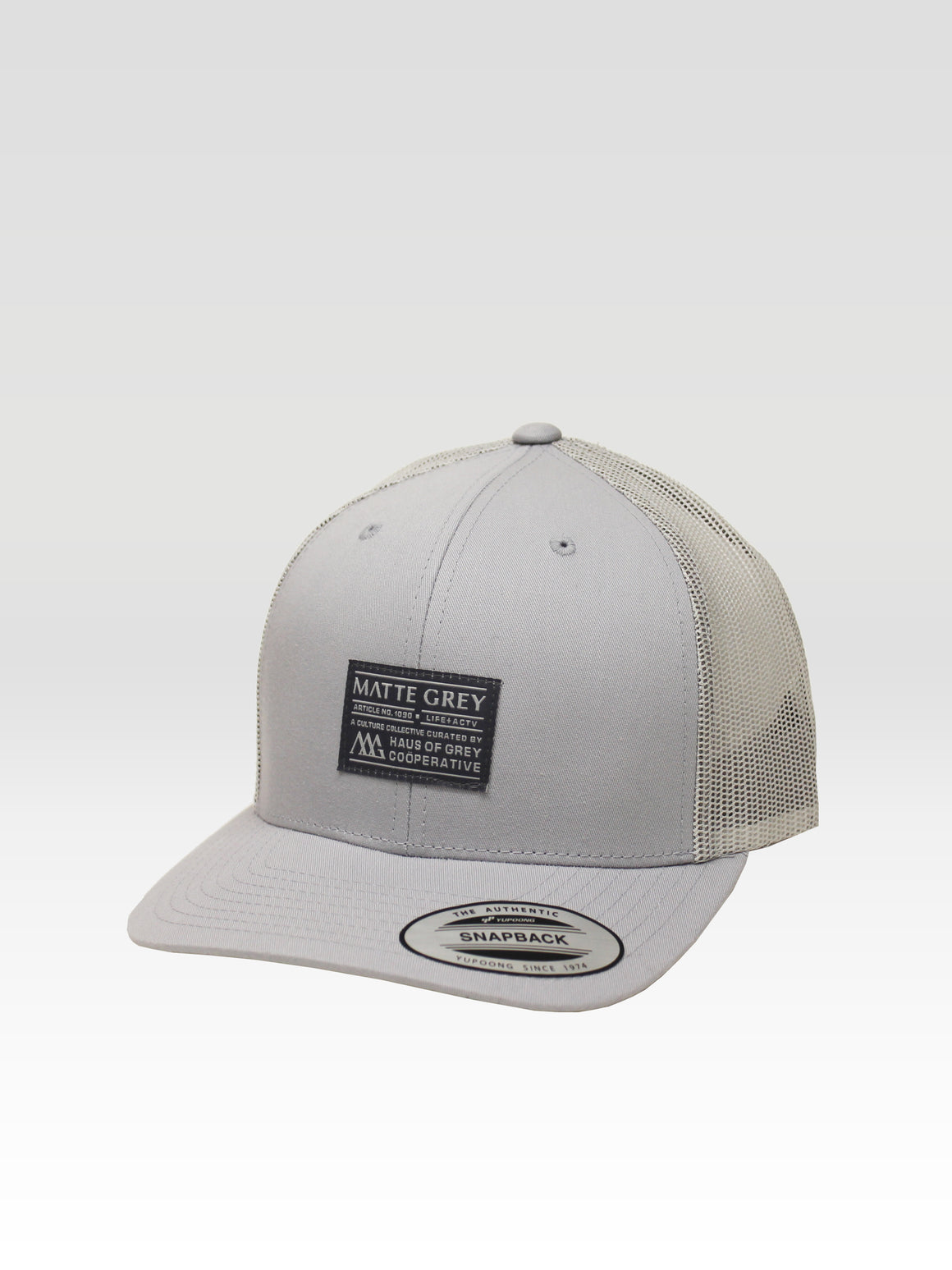Badge Trucker - Silver