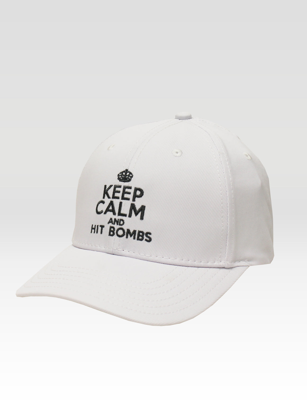 Keep Calm Sport - White (Brand Grey)