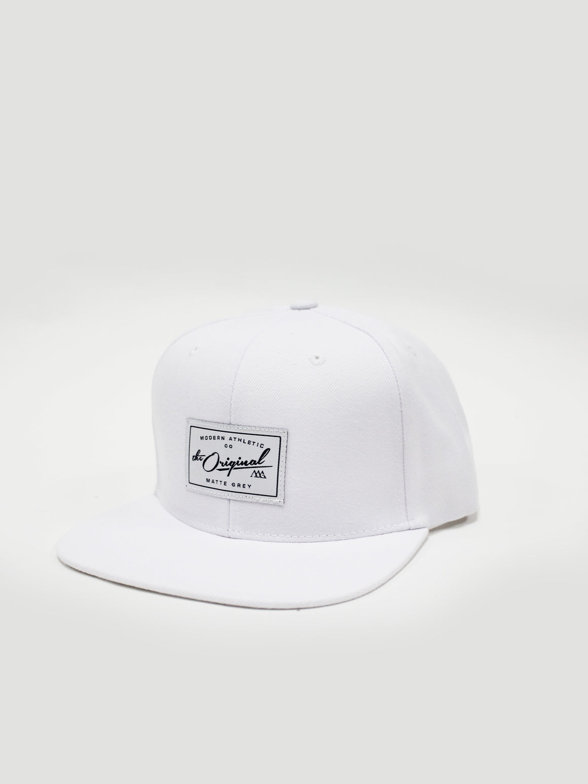 Vintage Badge Snapback - White (Malibu)