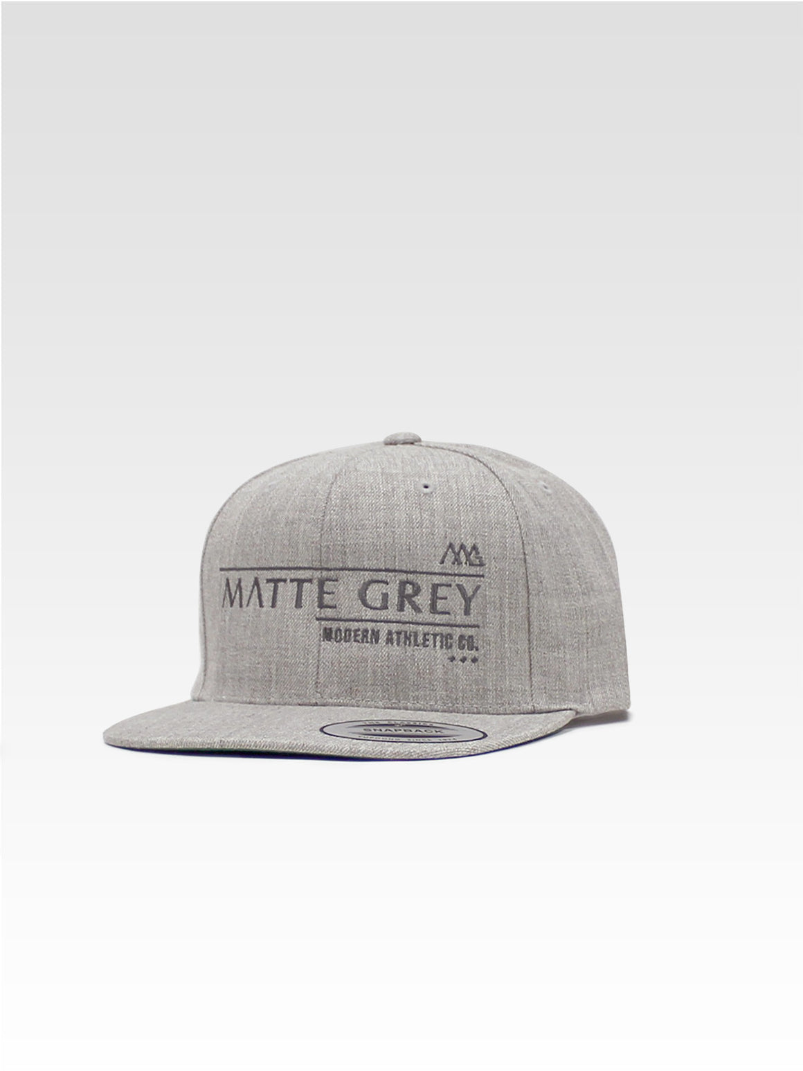 Billboard Snapback - Heather (Smoke)