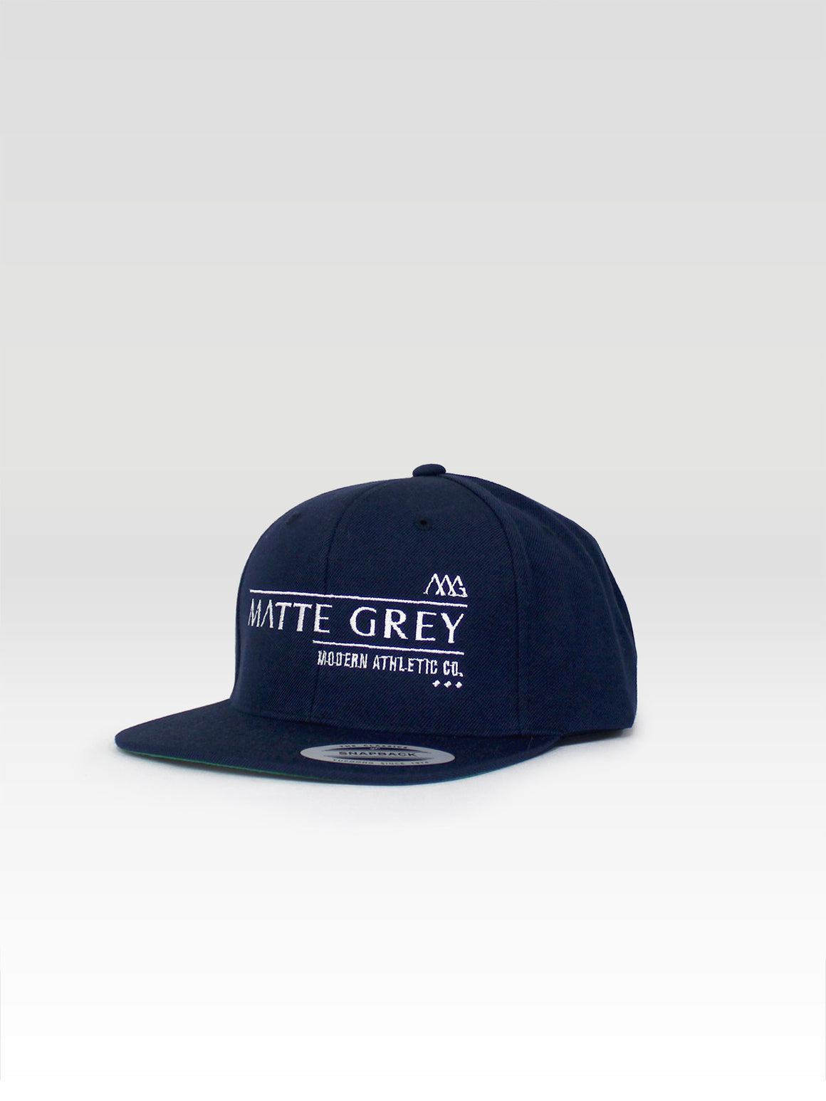 Billboard Snapback - Navy (White)