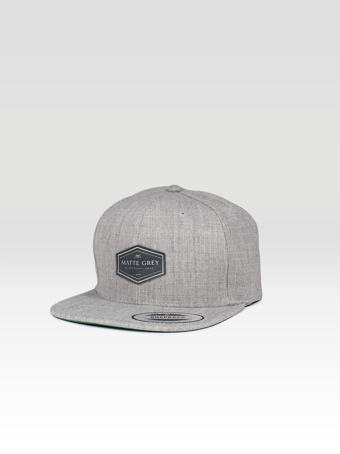 Hex Angle Snapback - Heather