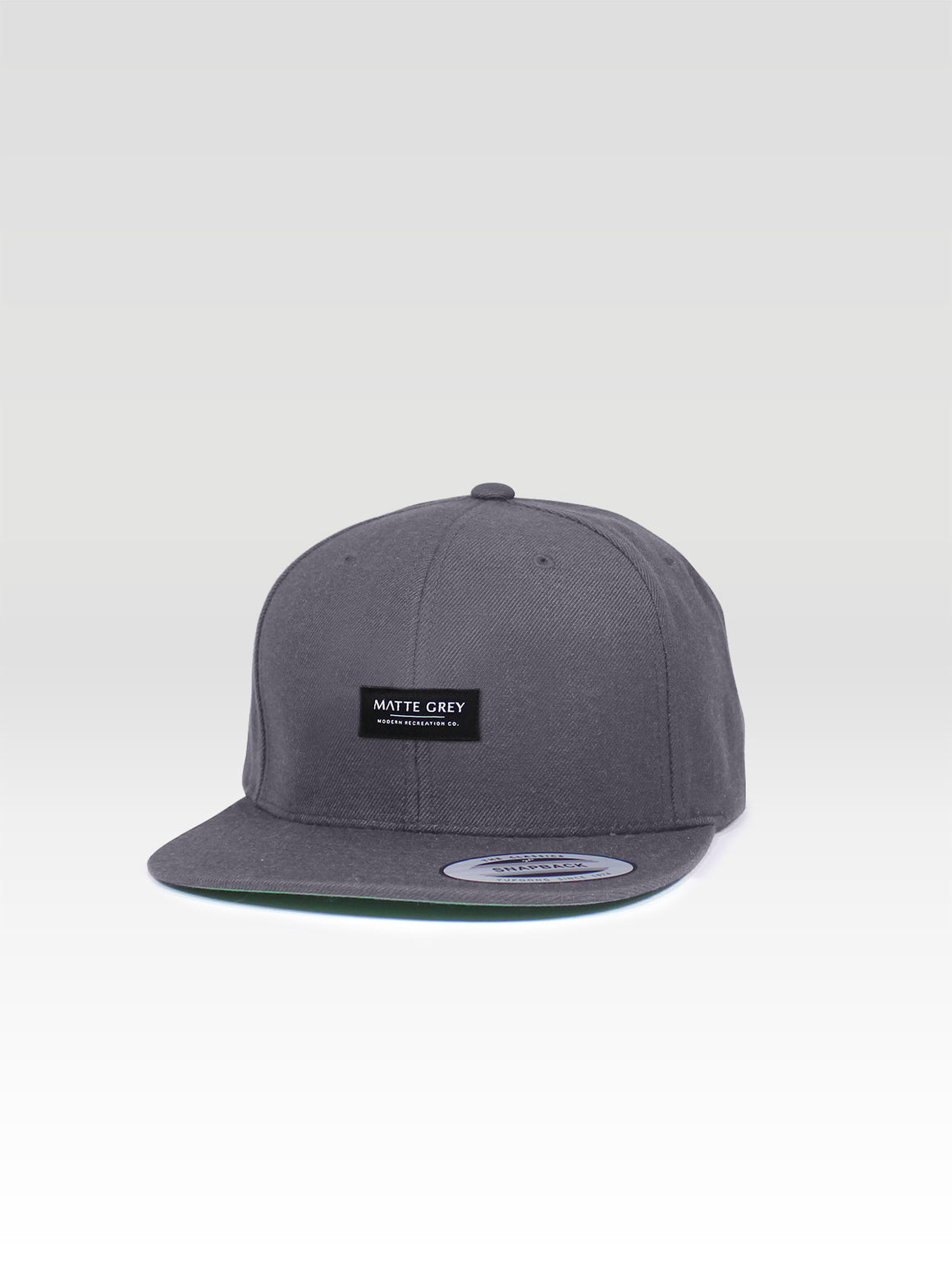MDRN Badge Snapback - Dark Grey