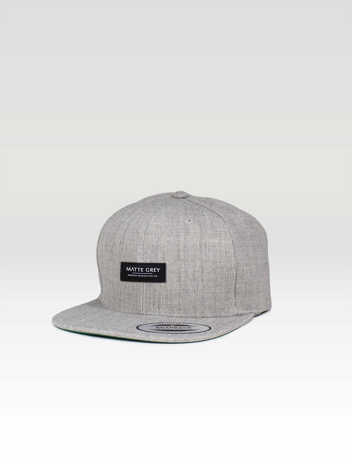 MDRN Badge Snapback - Heather
