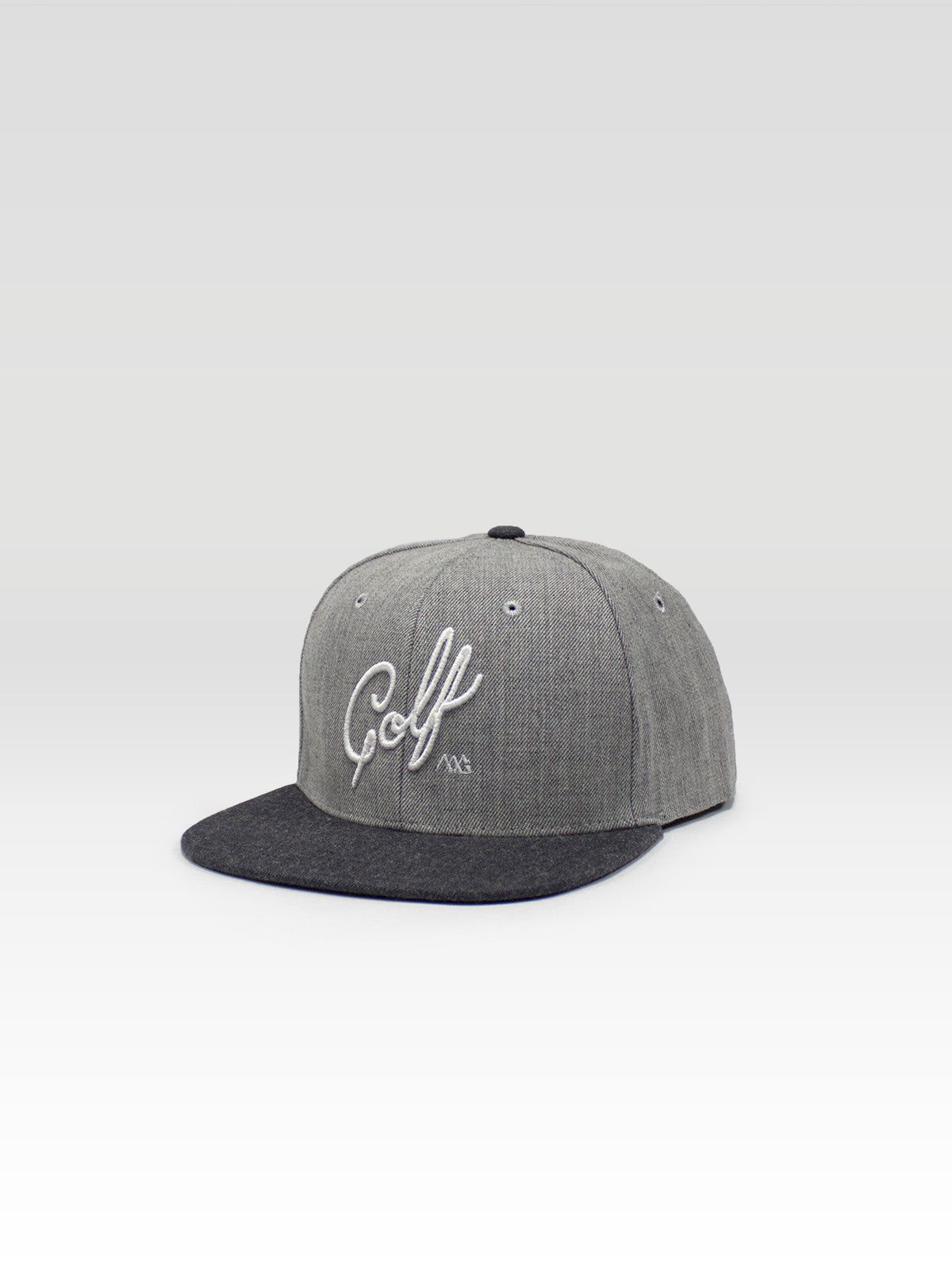 8db6c7ded10 Matte Grey Men s Script Snapback Light Grey   Dark Grey Heather ...