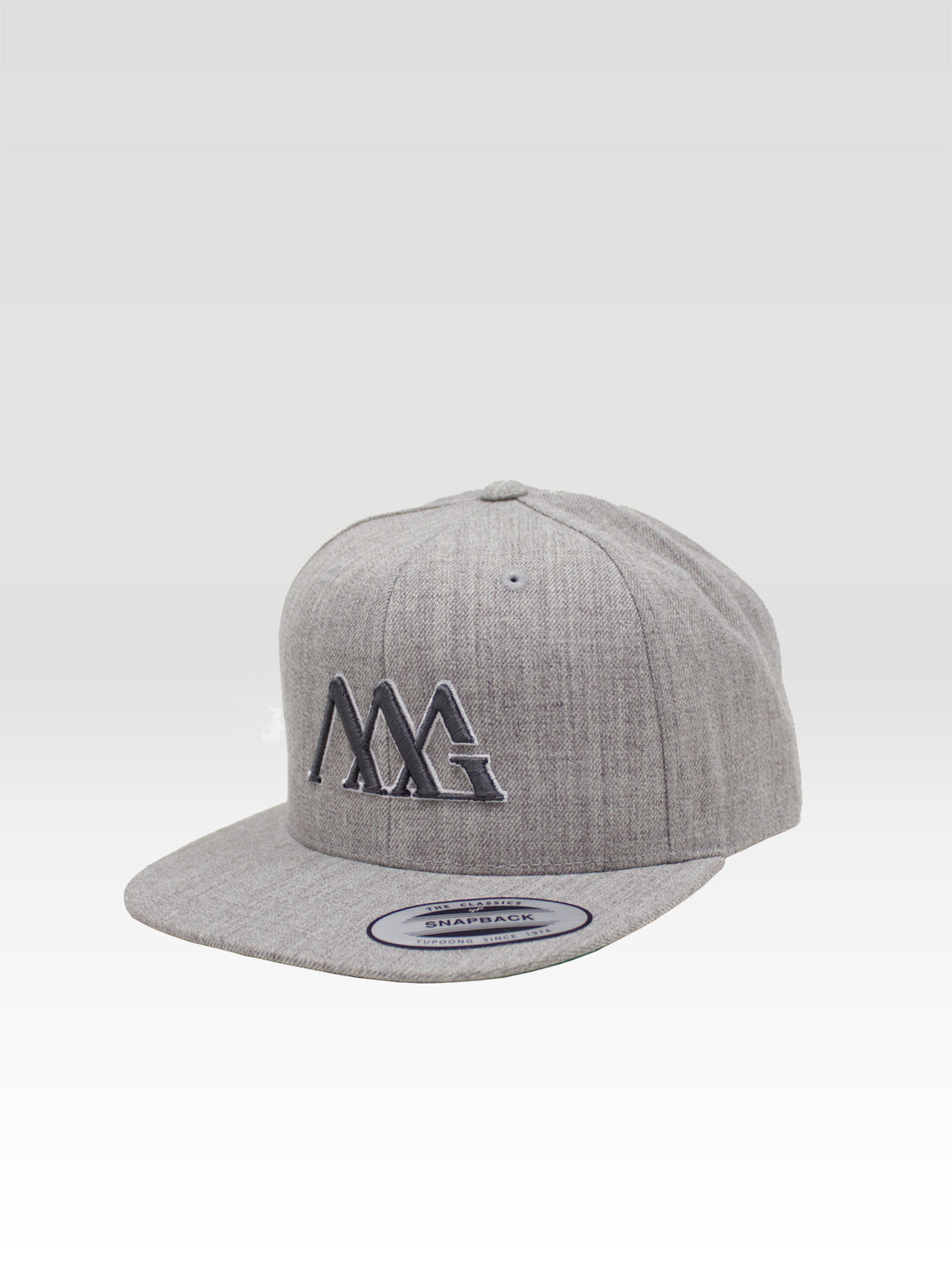 Iconoline Snapback - Heather (Smoke / White)