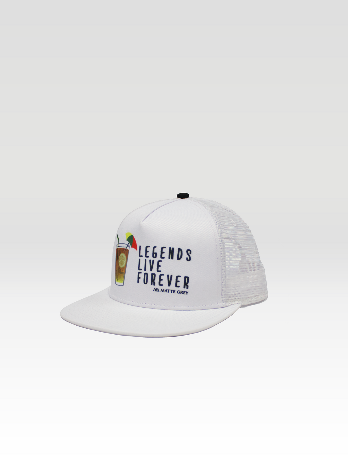 Legend Trucker - White