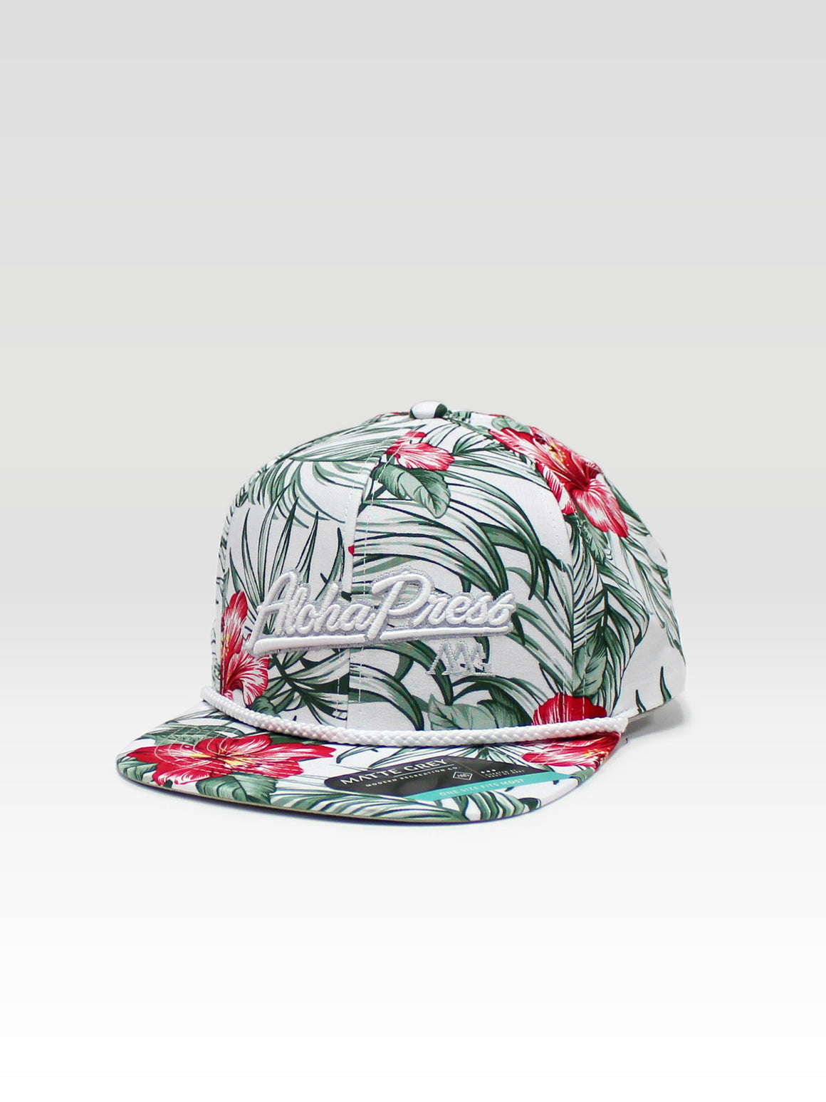 Aloha Press Strapback - White