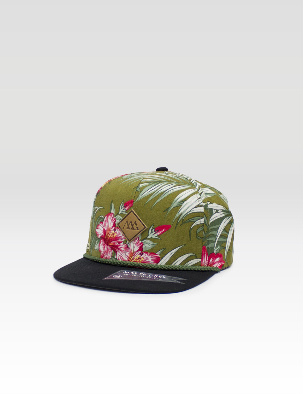 Diamond Aloha Strapback - Olive / Black
