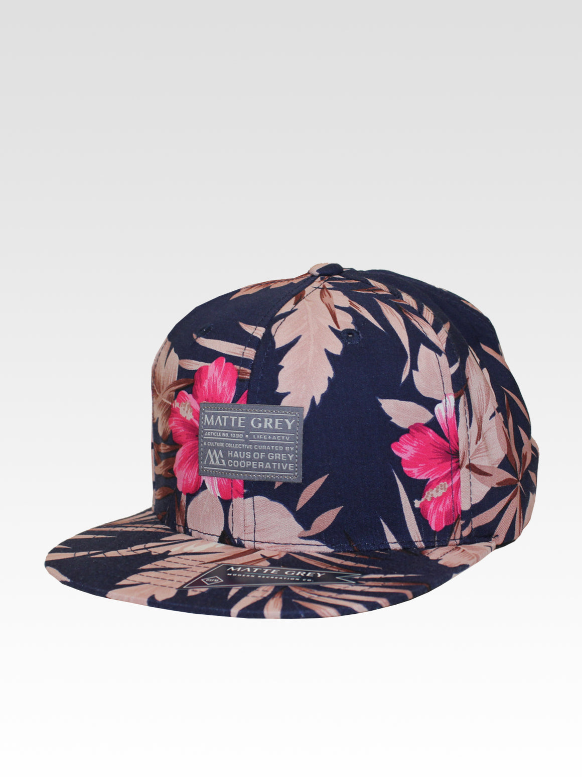 Badge Aloha Strapback - Navy (Rose)