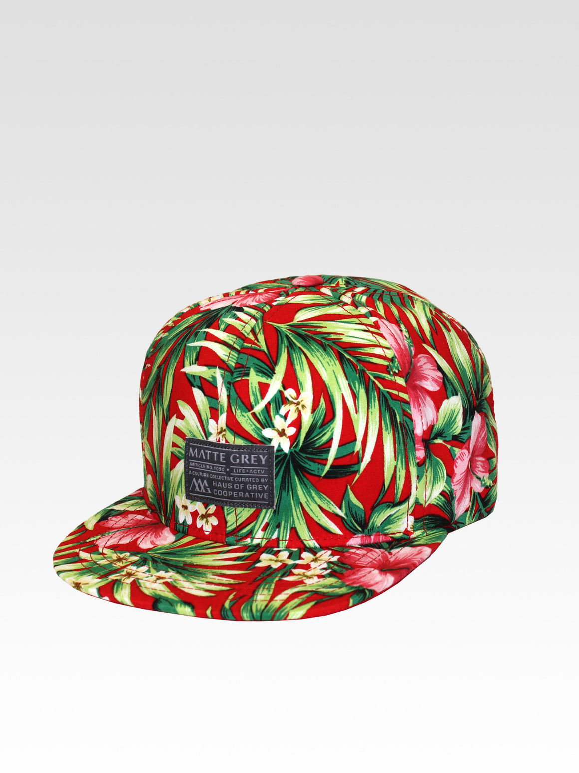 Badge Aloha Strapback - Red (White)