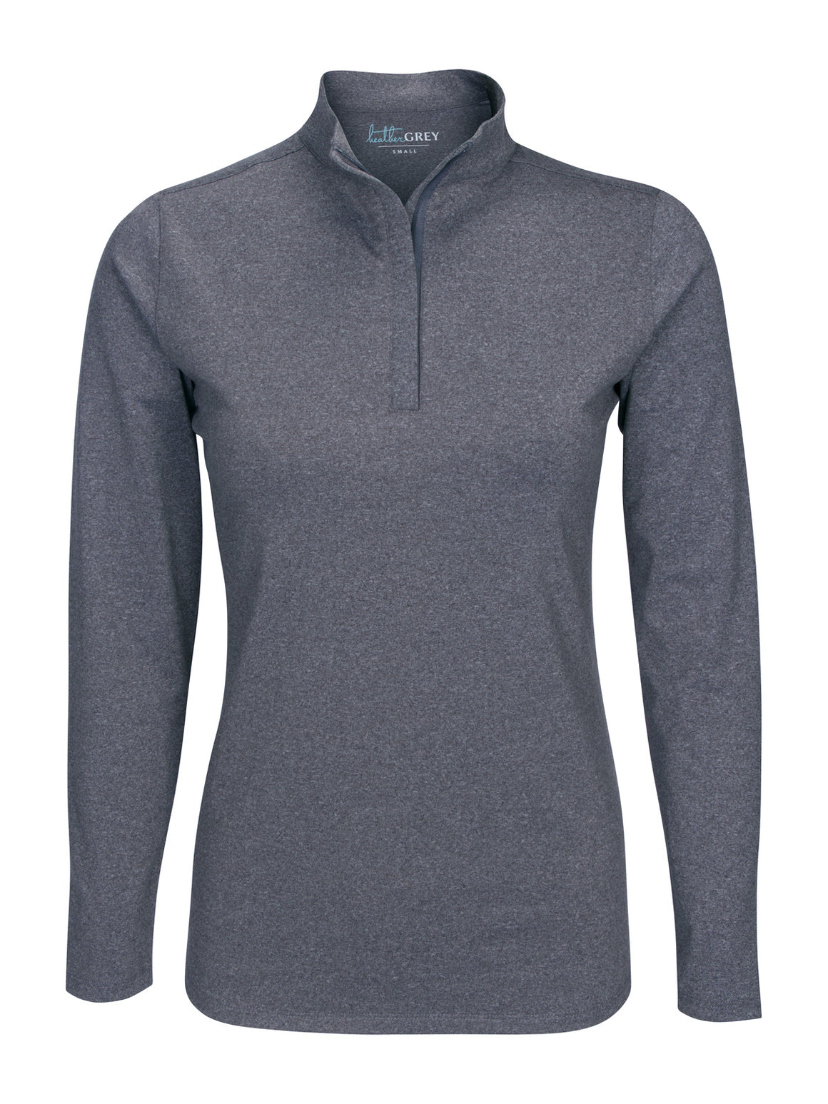 Heather Hightower Half Zip - Charcoal Heather