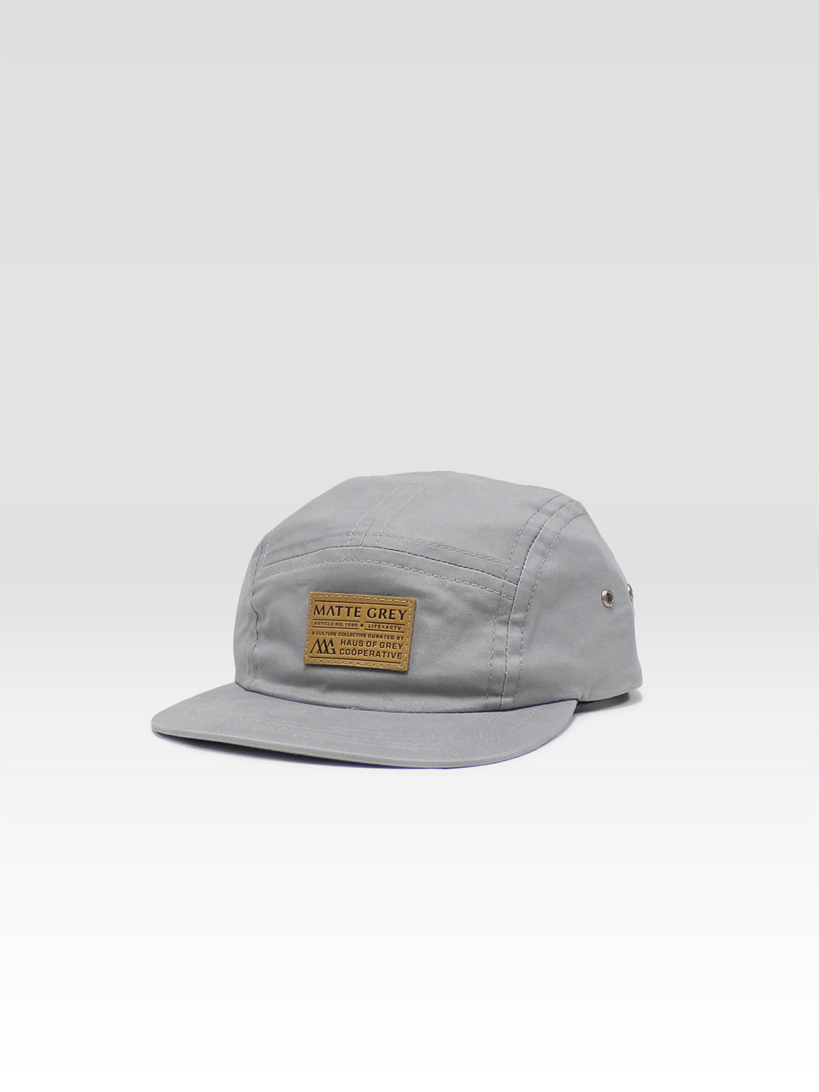 Weekender Premium Badge 5Panel - Steel